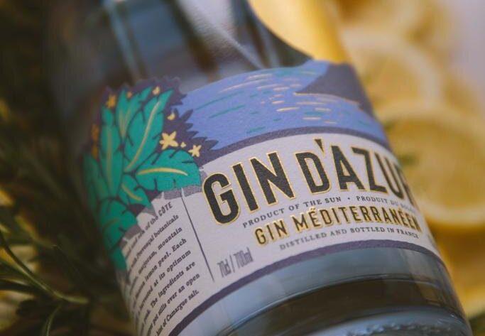 Gin d'azur - b'oak création